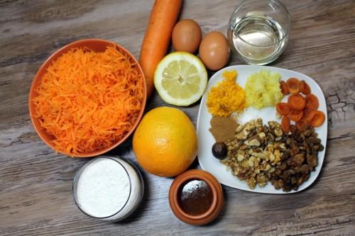 Морковный кекс в мультиварке