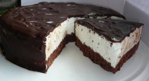 Торт птичье молоко в мультиварке