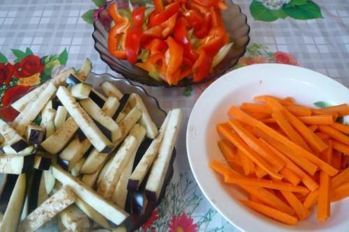 Рисовая каша с овощами в мультиварке