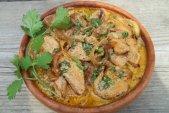 Рецепт нежной курицы с картофелем и сыром в мультиварке