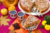 Шарлотка с яблоками и тыквой — вкуснейший диетический десерт
