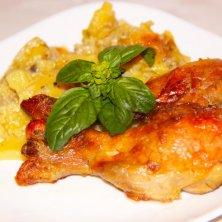 Куриные голени с картошкой – вкусный ужин для всей семьи без забот