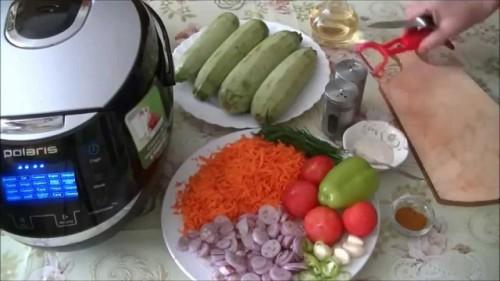 рецепт аджики из кабачков в мультиварке