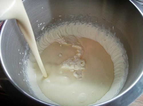 Сливочное суфле с желатином