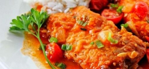 Рыба в томате в мультиварке