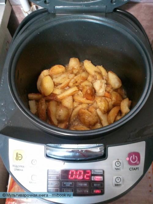 Картофель айдахо в мультиварке