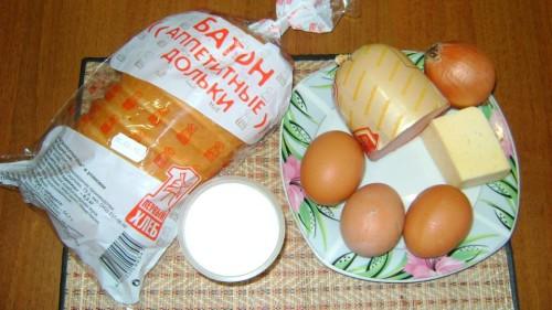 Яичница с колбасой в мультиварке